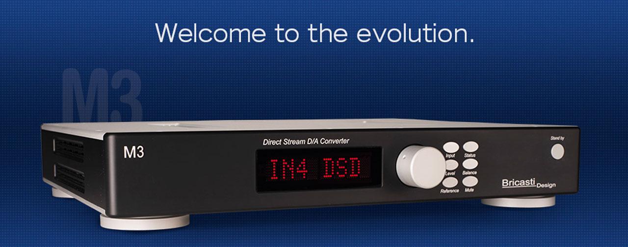 Bricasti presenta il nuovo convertitore digitale analogico M3